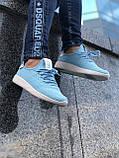 Красивые Женские Кроссовки Adidas Pharrell голубые Качество Премиум Трендовые Адидас реплика 36 37 38 39р, фото 2