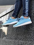 Красивые Женские Кроссовки Adidas Pharrell голубые Качество Премиум Трендовые Адидас реплика 36 37 38 39р, фото 4
