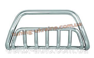 Защита переднего бампера кенгурятник из нержавейки на Range Rover Sport 2005-2014