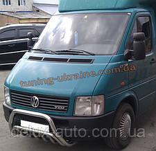 Защита переднего бампера кенгурятник из нержавейки на Volkswagen LT35 1996-2006