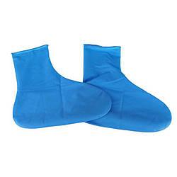 РЕЗИНОВЫЕ БАХИЛЫ НА ОБУВЬ ОТ ДОЖДЯ, голубой, размер S (53340004)