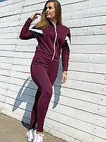 Спортивный костюм трикотажный в трёх цветах, фото 1