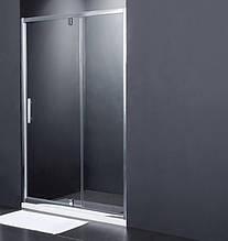 Душевая дверь Primera Frame 1400x1900 мм, стекло серое