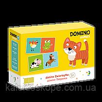 Детское домино с животными DoDo