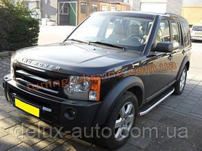 Боковые площадки из алюминия Fullmond для Land Rover Discovery 2004-2009