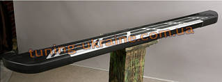 Боковые площадки из алюминия Sunrise для Land Rover Freelander 1997-2006