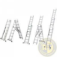 Лестница раскладывающаяся универсальная 9 ступенек Sigma 5032334