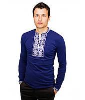 Мужская Вишита футболка хрестиком «Ромби» , фото 1