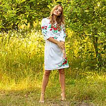 Женское льняное платье вышиванка Соломия, фото 3