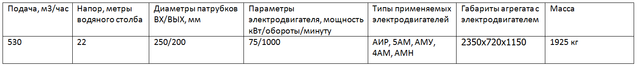 насос СМ250-200-400/6