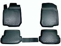 Коврики салона (полиуретановые) черные Lexus rx 300/330/350/400h (2003-2009)