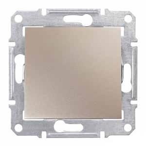 Выключатель 1- кл Титан Sedna SDN0100168