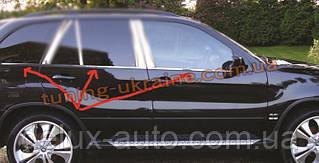 Нижняя окантовка окон Carmos на BMW X5 E70 2007-2013