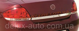 Накладка над номером Carmos на Fiat Linea 2007