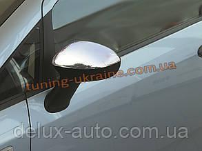 Накладки на зеркала Carmos на Fiat Linea 2007