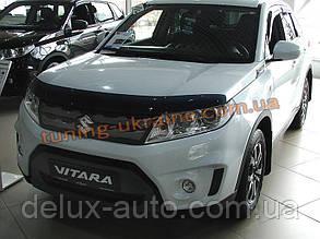 Дефлектор капота (мухобойка) SIM на Suzuki Vitara 2015+