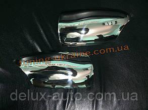 Накладки на зеркала Carmos на Mercedes E W210 1995-2002