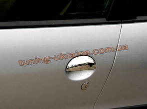 Накладки на ручки из АБС пластика Carmos на Peugeot 206 1998-2012