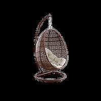 Кокон подвесной на подставке коричневый PRADEX