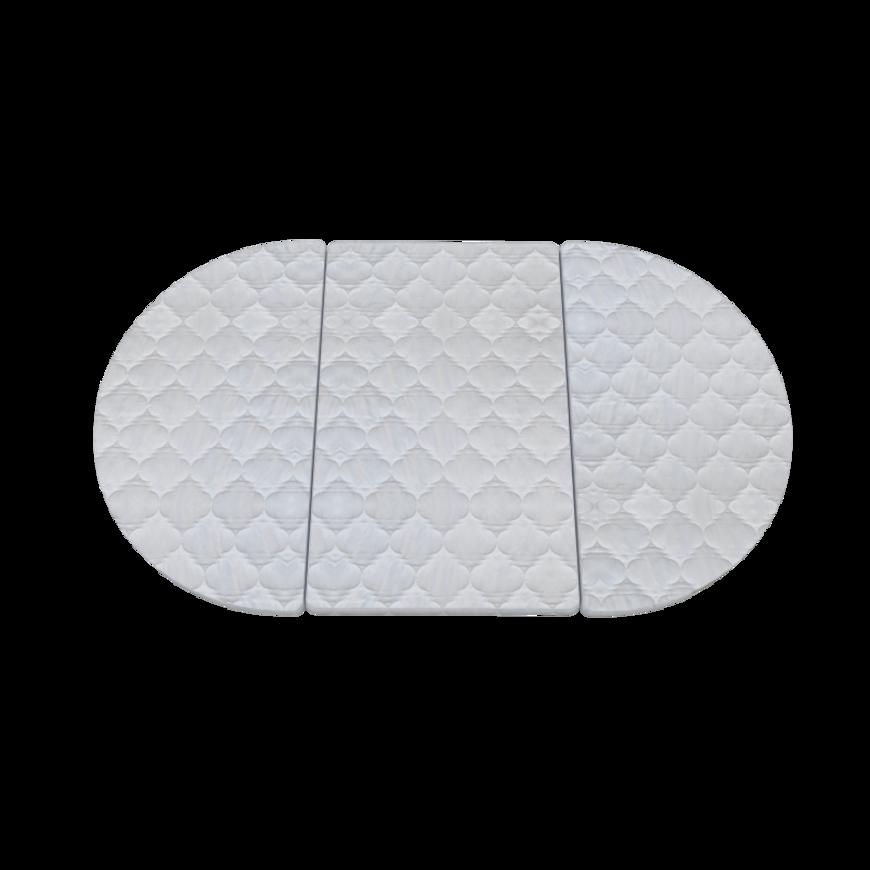 Дитячий овальний матрацик-трансформер IngVart SMART BED кокос+латекс