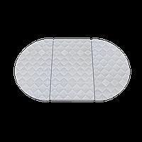 Дитячий овальний матрацик-трансформер IngVart SMART BED кокос+латекс, фото 1