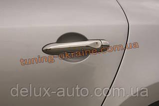 Накладки ручки Carmos на Renault Megane 3 2008-2015