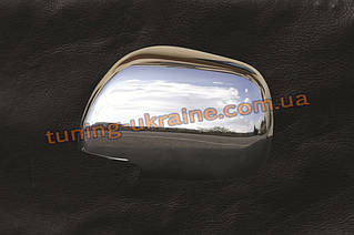 Накладки на зеркала из АБС пластика Carmos на Toyota Camry XV40 2006-2011