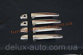 Накладки на ручки Carmos на Toyota Camry XV40 2006-2011