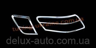 Накладки на стопы из АБС пластика Carmos на Toyota Camry XV40 2006-2011