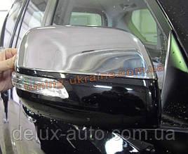 Накладки на зеркала Carmos на Toyota LC 200 2012