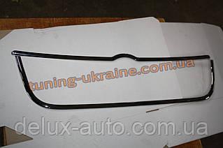 Накладка вокруг решетки радиатора из АБС пластика Carmos на Volkswagen Bora 1998-2005