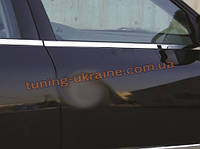 Нижняя окантовка окон Carmos на Volkswagen Jetta 5 2005-2010