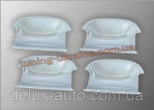 Накладки под ручки (мыльнички) из АБС пластика Carmos на Volkswagen Passat B6 2005-2010