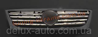 Накладки на решетку радиатора Carmos на Volkswagen Passat B6 2005-2010