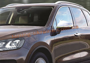 Накладки на зеркала Carmos на Volkswagen Touareg 2010