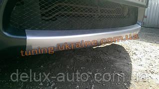 Накладка на передний бампер из ABS пластика на Mitsubishi Grandis 2003-2011
