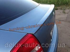 Спойлер на крышку багажника из ABS пластика на Skoda Octavia A5 2004-2009