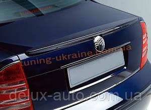 Спойлер на крышку багажника из ABS пластика на Skoda Superb 2001-2008