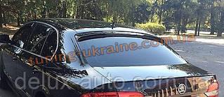 Спойлер на заднее стекло  из ABS пластика на Skoda Superb 2008-2015