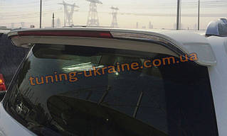 Спойлер на крышу с хромом из ABS пластика на Lexus lx570 2007-2012