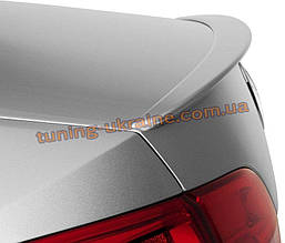 Спойлер на крышку багажника из ABS пластика на Volkswagen Jetta 6 2010