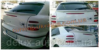 Спойлер над стеклом без стопа под покраску на Fiat Brava 1995-2001