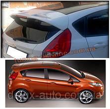 Спойлер оригинал под покраску на Ford Fiesta 5 дверей 2008-2015