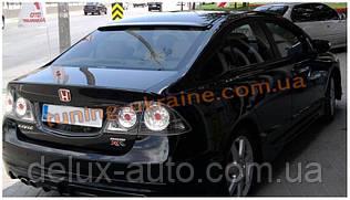 Козырек на заднее стекло под покраску на Honda Civic 8 2005-2011