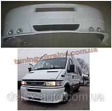 Передний бампер под покраску на Iveco Daily 1999-2006