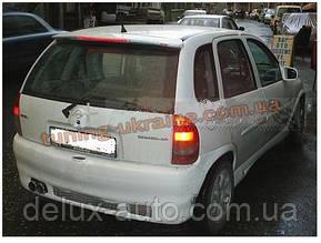Спойлер со стопом под покраску на Opel Corsa B 1993-2000