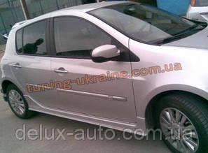Накладки на пороги под покраску на Renault Clio 3 2005-2012