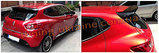 Спойлер на стекло под покраску на Renault Clio 4 2012