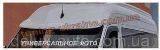 Козырек на лобовое стекло под покраску на Renault Master 2010