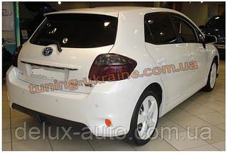 Дифузор на задний бампер под покраску на Toyota Auris 2006-2012